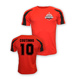 Philippe Coutinho Liverpool Sports Training Jersey (red)