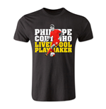 Philippe Coutinho Liverpool Playmaker T-Shirt (Black) - Kids