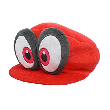 Nintendo Super MARIO Bros. Odyssey Red Cappy Plush Toy