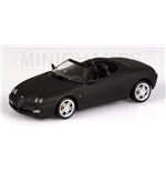 ALFA ROMEO SPIDER MATT BLACK