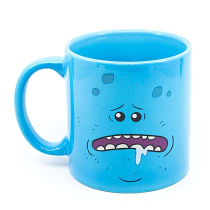 Rick And Morty Mr. Meeseeks 20oz Coffee Mug