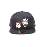 Rick and Morty Cap - Characters Snapback Black