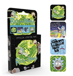 Rick and Morty Coaster Set - Mix