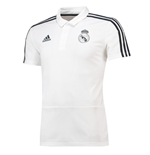 2018-2019 Real Madrid Adidas Polo Shirt (White)