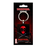 Deadpool Metal Keychain Eye Patch 6 cm