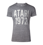 ATARI Male Vintage Atari 1972 T-Shirt, Medium, Grey