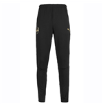 2018-2019 Arsenal Puma Fitted Training Pants with Pockets (Black)