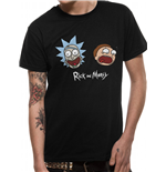 Rick And Morty - Heads - Unisex T-shirt Black