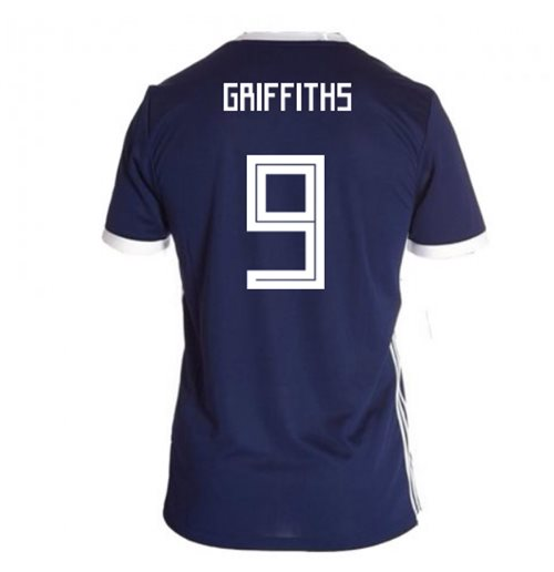 bd5d2287c4a Buy Official 2018-19 Scotland Home Football Shirt (Griffiths 9)