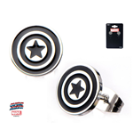 Captain America Earrings 307915
