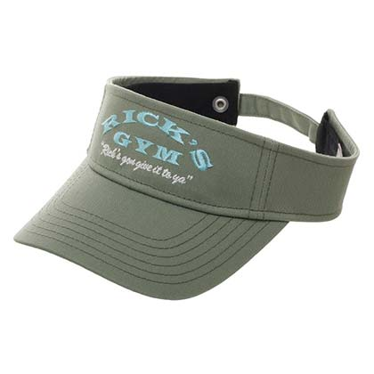 Cartoon Network Rick And Morty Rick's Gym Green Hat Visor
