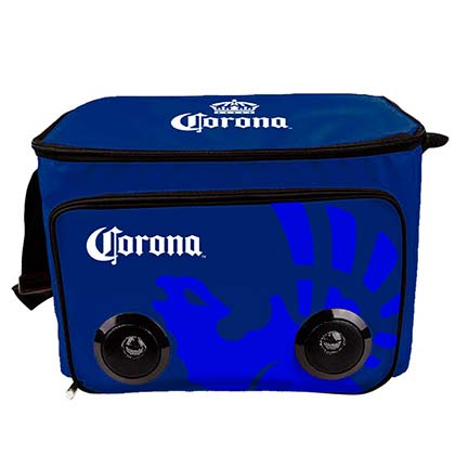 Corona Soft Cooler Bag Built In Bluetooth Speakers
