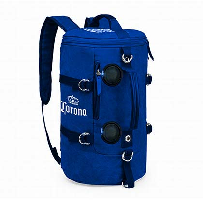 CORONA EXTRA Soft Backpack Wireless Bluetooth Speakers Blue Cooler