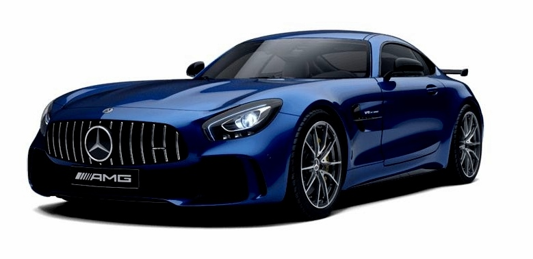 MERCEDES AMG GT R LEATHER MATT BLUE 2017