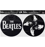 The Beatles Slipmat Set: Drop T Logo & Faces