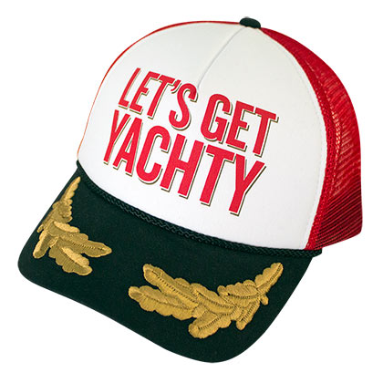 CAPTAIN MORGAN Let's Get Yachty Adjustable Men's Hat