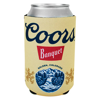 COORS Banquet Beer Can Insulator Cooler
