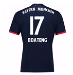 2017-18 Bayern Away Shirt (Boateng 17)