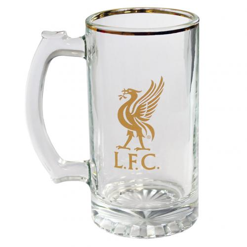 Liverpool F.C. Stein Glass Tankard