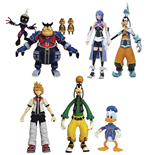 Kingdom Hearts Select Action Figures 18 cm Packs Series 2 Assortment (6)