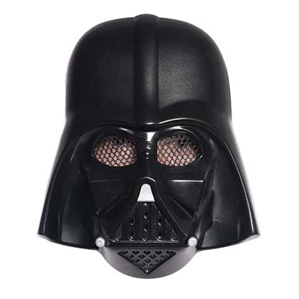 STAR WARS Darth Vader Vacuform Halloween Costume Mask