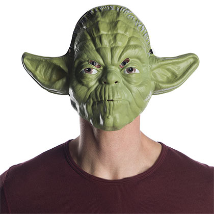 STAR WARS Yoda Vacuform Halloween Costume Mask