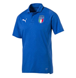 2018-2019 Italy Puma Casual Polo Shirt (Blue)