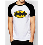 Batman T-shirt - Logo Raglan Baseball