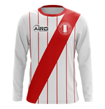 2018-2019 Peru Long Sleeve Home Concept Football Shirt (Kids)