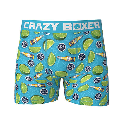 Corona Limes And Bottles Men's Boxer Briefs Shorts