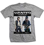 Star Wars Mens Tee: Wanted Smugglers