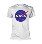 Nasa T-shirt Insignia Logo (WHITE)