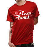 Toy Story - Pizza Planet - Unisex T-shirt Red