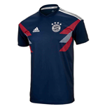 2018-2019 Bayern Munich Adidas Pre-Match Training Shirt (Navy) - Kids