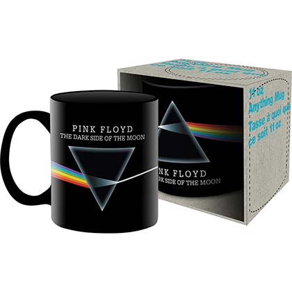 PINK FLOYD Dark Side Of The Moon Logo Black 11oz Mug