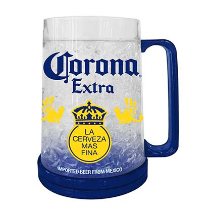 CORONA EXTRA Logo 16 Ounce Freezable Beer Mug