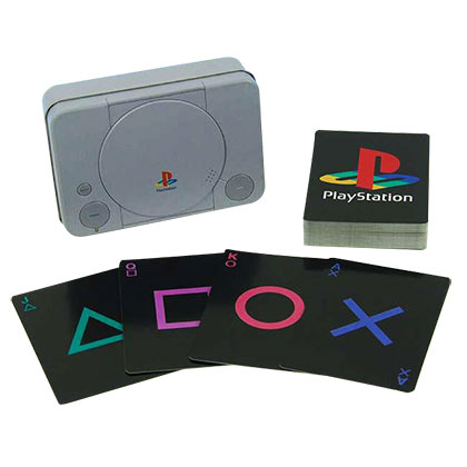 PLAYSTATION Tin Playing Cards Set