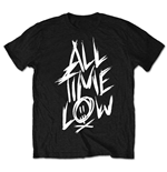 All Time Low Men's Tee: Scratch (Retail Pack)