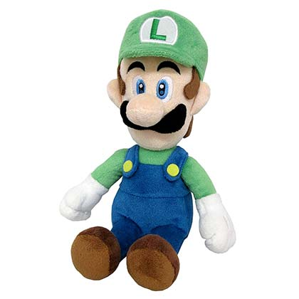 Super MARIO Bros. Luigi 10 Inch Plush Doll