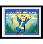 Fallout76 Framed Print - Reclamation Day - 30X40 Cm