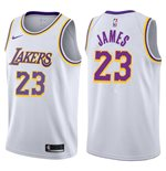 Men's Los Angeles Lakers LeBron James Nike Association Edition Replica Jersey