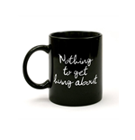 Strawberry Field - Nothing To Get Hung About - Mug Black