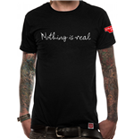 Strawberry Field - Nothing Is Real - Unisex T-shirt Black