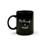 Strawberry Field - Nothing Is Real - Mug Black