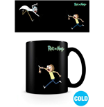 Rick and Morty Heat Change Mug Portals