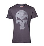 Punisher - Faded Logo Vintage Men's T-shirt
