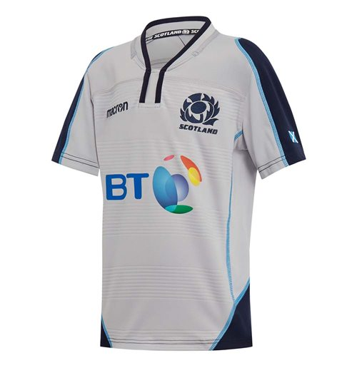 2018-2019 Scotland Alternate Replica Rugby Shirt (Kids)