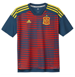 2018-2019 Spain Adidas Pre-Match Training Shirt (Red-Navy) - Kids