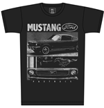 Ford - Ford Mustang Black Men's T-shirts