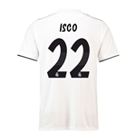 2018-19 Real Madrid Home Football Shirt (Isco 22) - Kids